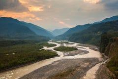Pastaza flod arkivfoton