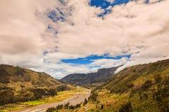 Pastaza-Flusseinzugsgebiet, Vogelperspektive, Südamerika lizenzfreie stockfotografie