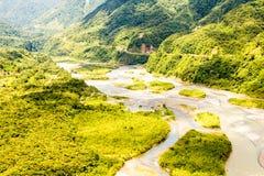Pastaza River Basin Aerial Shot Stock Photo