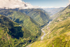 Pastaza Valley In Ecuador Stock Photography