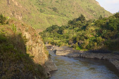 Pastazarivier in Ecuador royalty-vrije stock foto's