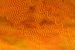 Paste Paper: Orange Lines stock image
