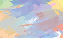 Paste-Papier: Purpurrote, Blaue und Schwarz-Strudel Lizenzfreies Stockbild