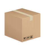 Pasteboard box Stock Photo