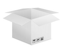 Pasteboard box Royalty Free Stock Photo