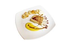 Pastei Foie Gras met aardappelworst Royalty-vrije Stock Afbeeldingen