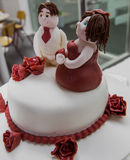 Pastei 8 van het huwelijk Stock Afbeelding