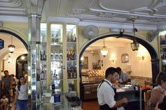 Pasteis de Belém em Lisboa, Portugal Fotografia de Stock Royalty Free