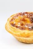 Pasteis de Belém, Nata, português endurece Foto de Stock Royalty Free