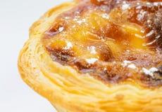 Pasteis de Belém, Nata, português endurece Fotos de Stock