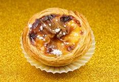 Pasteis de Belém, Nata, português endurece Imagens de Stock