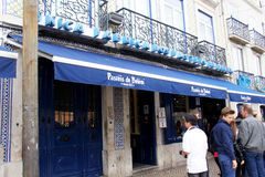 Pasteis de Belem cafe Stock Photo
