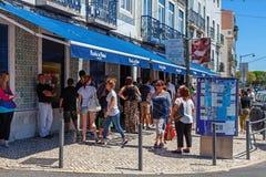 Pasteis De Belem, Lisbonne Photos stock