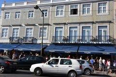 Pasteis De Belem in Lissabon, Portugal Stockfotografie