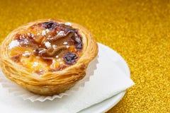 Pasteis de Belem, Nata, португалка испечет Стоковая Фотография RF