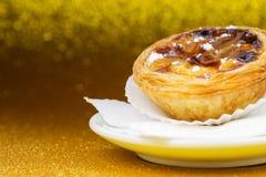Pasteis de Belem, Nata, Portoghese agglutina Fotografia Stock Libera da Diritti