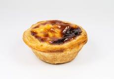 Pasteis de Belem, Nata, Portoghese agglutina Fotografie Stock Libere da Diritti