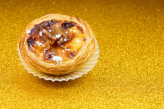 Pasteis DE Belem, Nata, Portugese Cake stock afbeelding