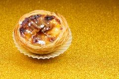 Pasteis de Belem, Nata, portugisisk kaka Fotografering för Bildbyråer