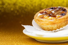 Pasteis de Belem, Nata, Portuguese Cake Royalty Free Stock Photo