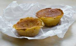 Pasteis de Feijao. Stock Images