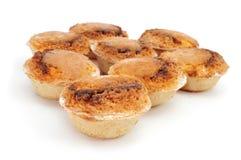 Pasteis de feijao, typical Portuguese pastries Stock Photos