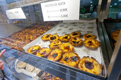 Pasteis de Nata στη Λισσαβώνα Στοκ Φωτογραφία