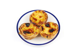 Pasteis de nata Stock Photos