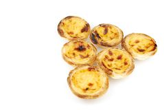 Pasteis de nata Royalty Free Stock Photography