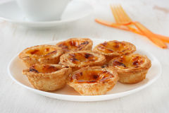 Pasteis de nata Stock Photography