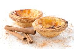Pasteis de nata стоковые фотографии rf