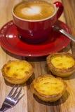 Pasteis de nata στοκ εικόνες με δικαίωμα ελεύθερης χρήσης