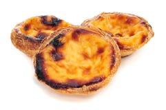 Pasteis de nata, portugués típico Fotografía de archivo libre de regalías