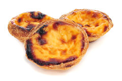 Pasteis de nata, typical Portuguese Royalty Free Stock Photography