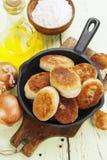 Pasteitjes met aardappels Royalty-vrije Stock Foto