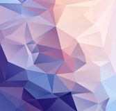 Pastel abstract background for design. Pastel geometric abstract background for design. Vector template Stock Photography