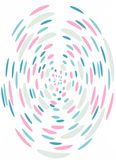 Pastel, abstract background with dots. Pastel confetti artistic background Stock Photos