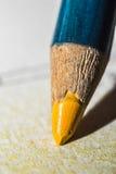 Pastel amarelo Imagens de Stock Royalty Free