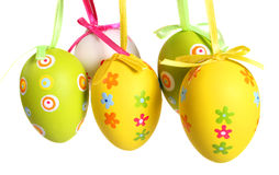 Free Pastel And Colored Easter Eggs Royalty Free Stock Images - 2076479