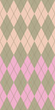 Pastel argyle. Pastel colored argyle seamless pattern Royalty Free Stock Photography