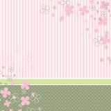 Pastel baby background Royalty Free Stock Images