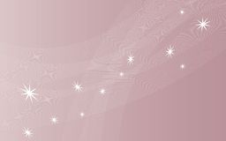 Pastel background. Pastel  background pink color with abstract white stars Royalty Free Stock Images