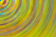 Pastel background blur abstract background circle lines part whirlpool design segment gradient mix of green yellow tones with stock illustration