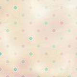 Pastel background with dots Stock Photography