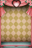 Pastel background with heart Royalty Free Stock Photo