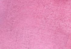 Pastel Background of Pink Cotton Textile Texture. Fabric Texture, Close Up of Pink Cotton Fabric Texture Pattern Background in Pastel Colors Tone Royalty Free Stock Photo