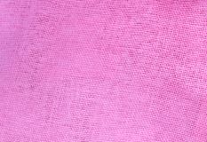 Pastel Background of Pink Cotton Textile Texture Stock Image