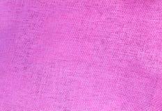 Pastel Background of Pink Cotton Textile Texture Stock Photo