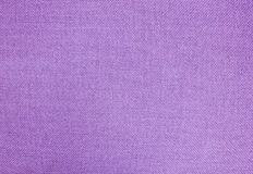 Pastel Background of Purple Cotton Textile Texture Stock Image