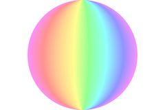 Pastel ball Stock Photos